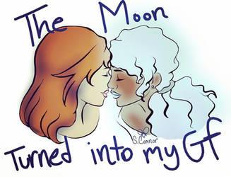 Lunar Lesbians by Patchwork--Heart