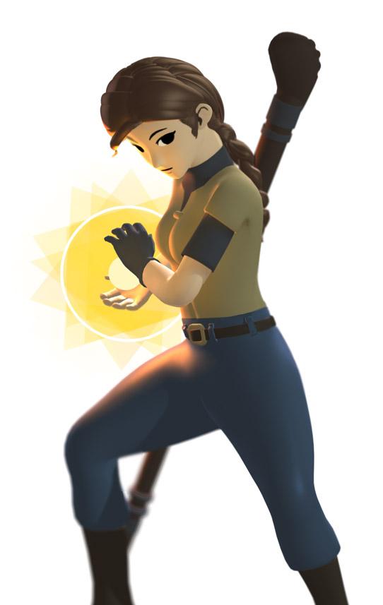 Wren casting Fireball! by Silver-Rin