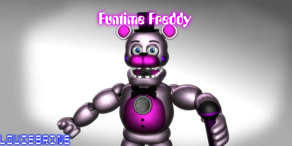 Mmd Funtime Freddy: MMD FNaF: Funtime Freddy DL By LouieBrine On DeviantArt