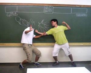 Street Fighter in school 3