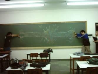 Street Fighter in school 4