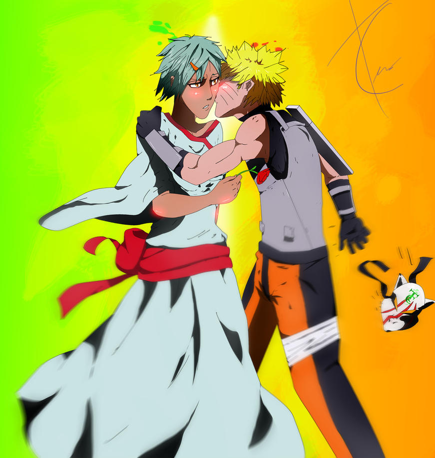 Fuu and Naruto: Requested by: CloudRed1998 by TheChabot