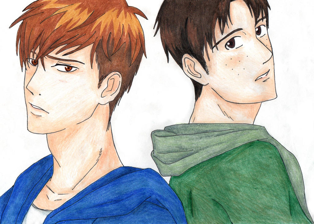 Mis dibujos Jean_and_marco_by_nekolioness-d9awfzr
