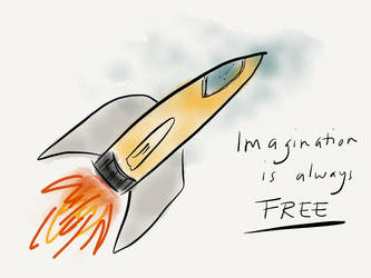 Imagination is always FREE! by janickg