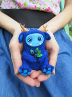 Blueberry Monster by MarrieKo