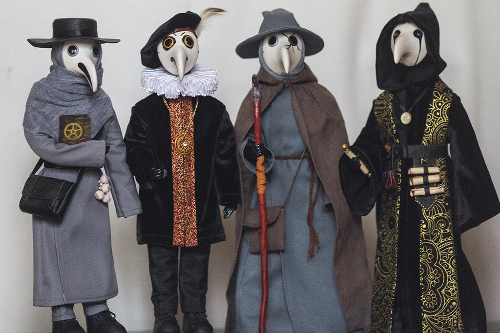 Plague Doctors by MarrieKo
