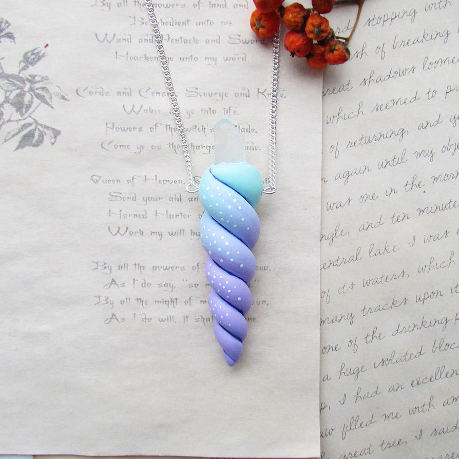 Pastel Unicorn Horn by mar-rie