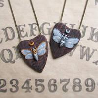 Death Head Moth Pendants