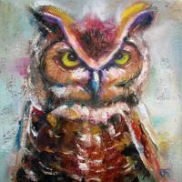 Owl no.3 by JACK-NO-WAR