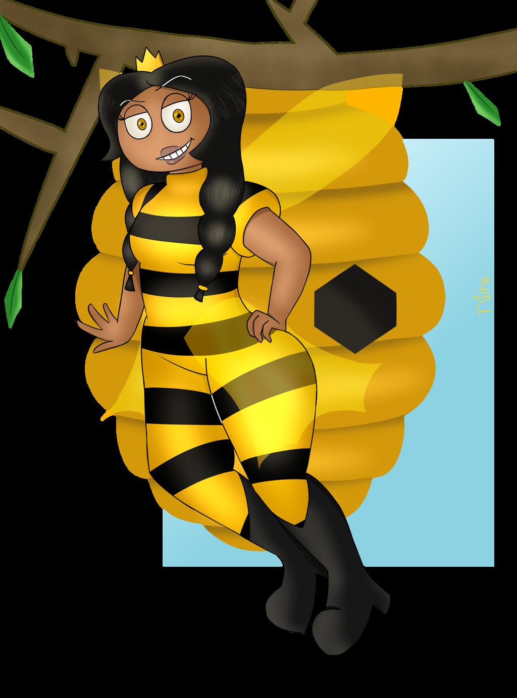|Art Trade| Queen Bee by NineTenOnetyOne