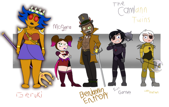 All My Pop Fanvillains