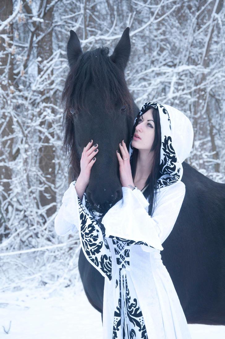 Equine Fantasy Stock 028 by MeetMeAtTheLake2Nite