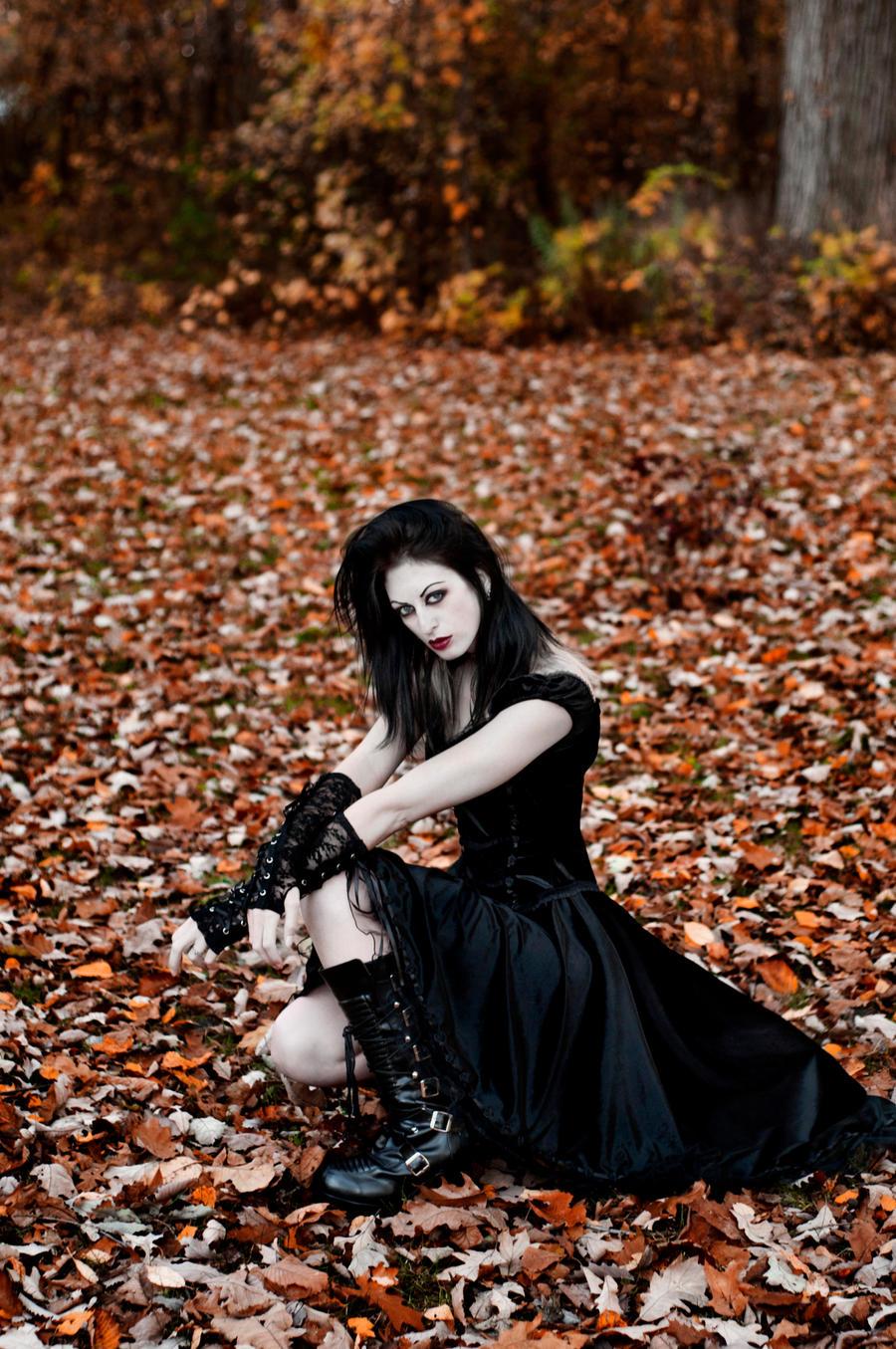 Goth Girl Stock 03 by MeetMeAtTheLake2Nite