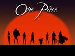 One Piece Sunset Wallpaper