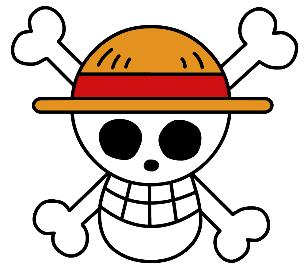 One Piece Flag Outline by Pachyderm11 on DeviantArt