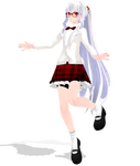[MMD Newcomer] Marry Kozakura -School Uniform-