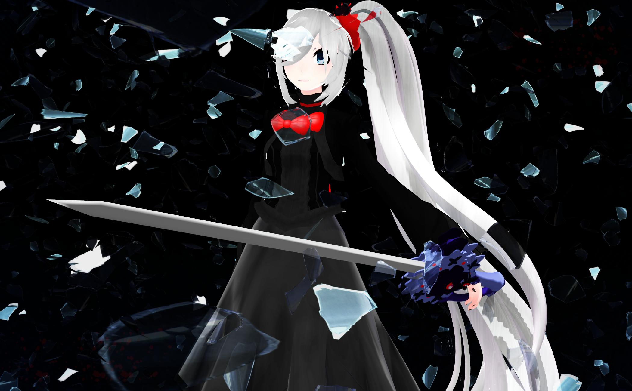 : SHATTER : by SapphireRose-chan