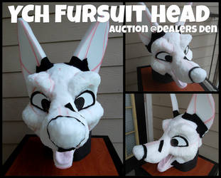 YCH Fursuit Head: FOR SALE by 1PUPsuits
