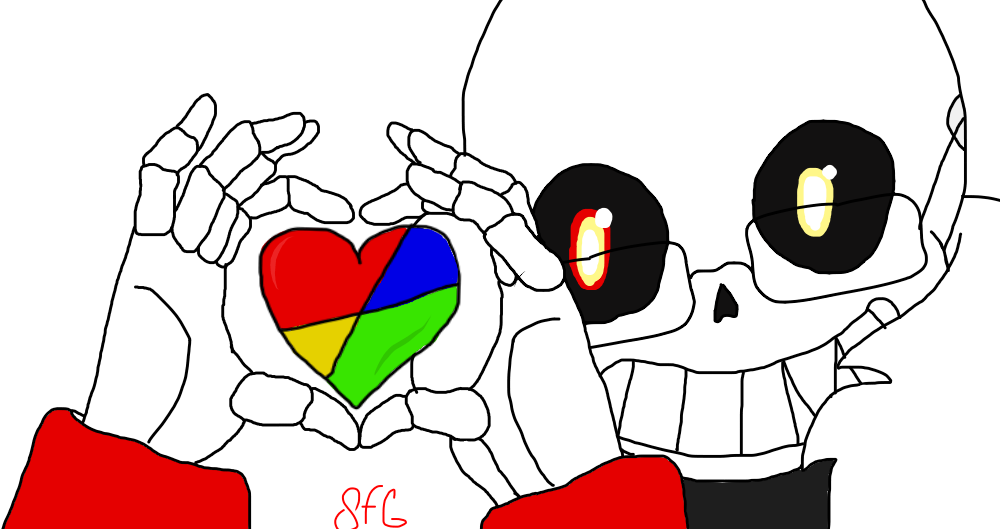 Wild At Heart Cardtale Uno Sans By Ufsansfg On Deviantart