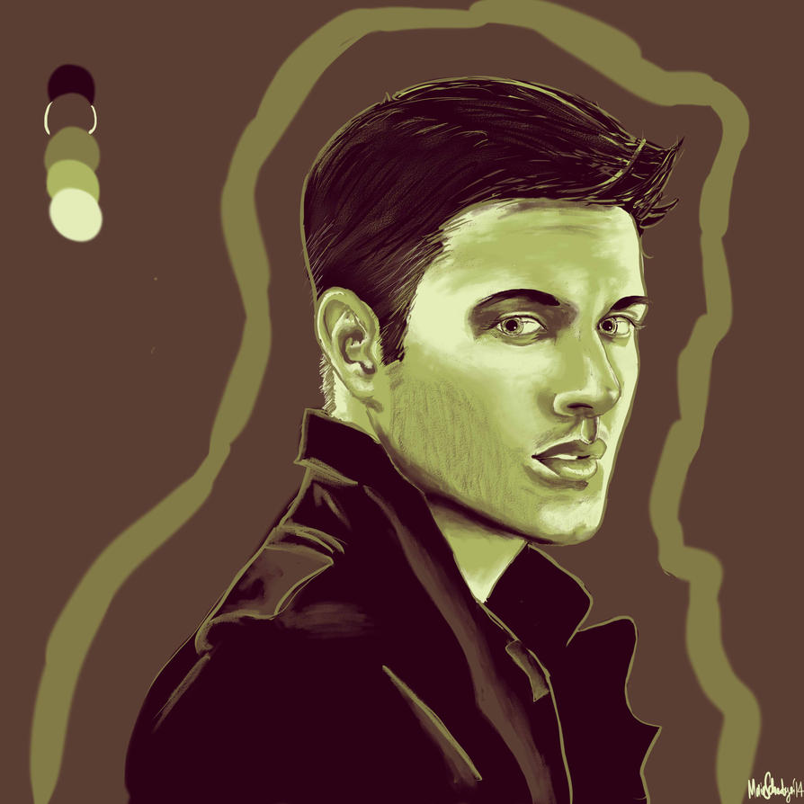 Color Palette Challenge: Dean Winchester by TheCatWithTheHat