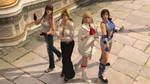 Tekken X DOA Coarseness and Elegance