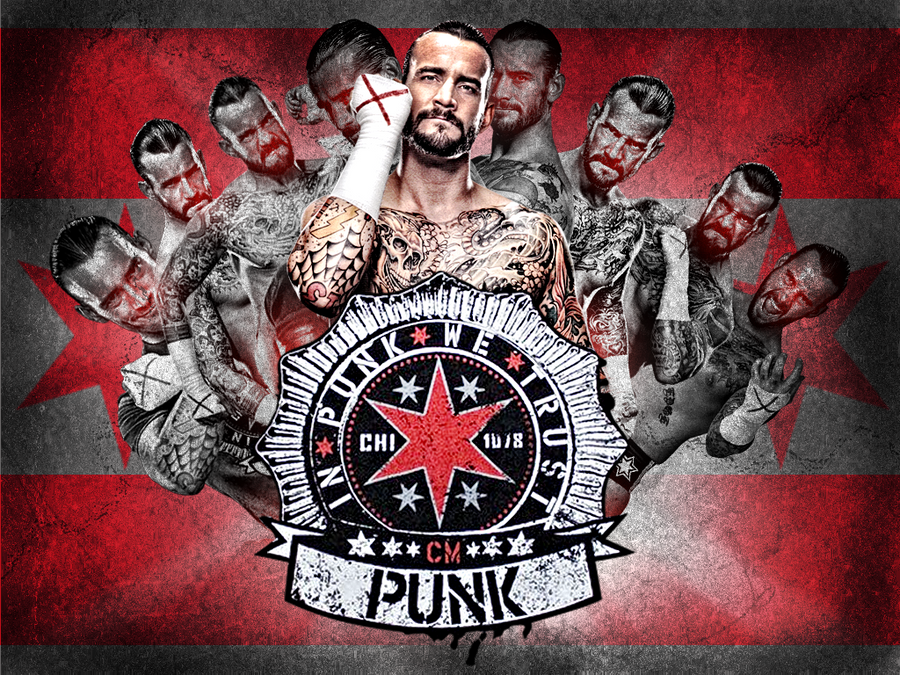 CM Punk Wallpaper! by TeamBringIt