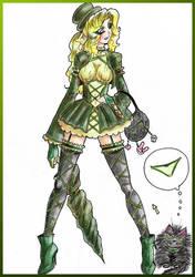 SvetlanaAndHerCat by greenflanker