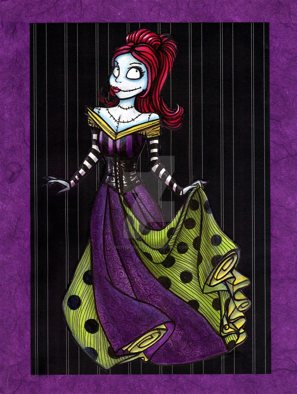 Sally, Disney Princess of Halloweeentown by Gothscifigirl