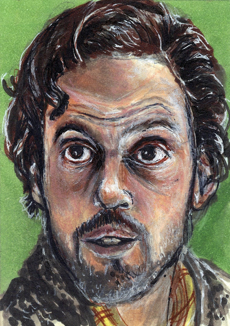 Monroe from Grimm Sketch Card by Gothscifigirl