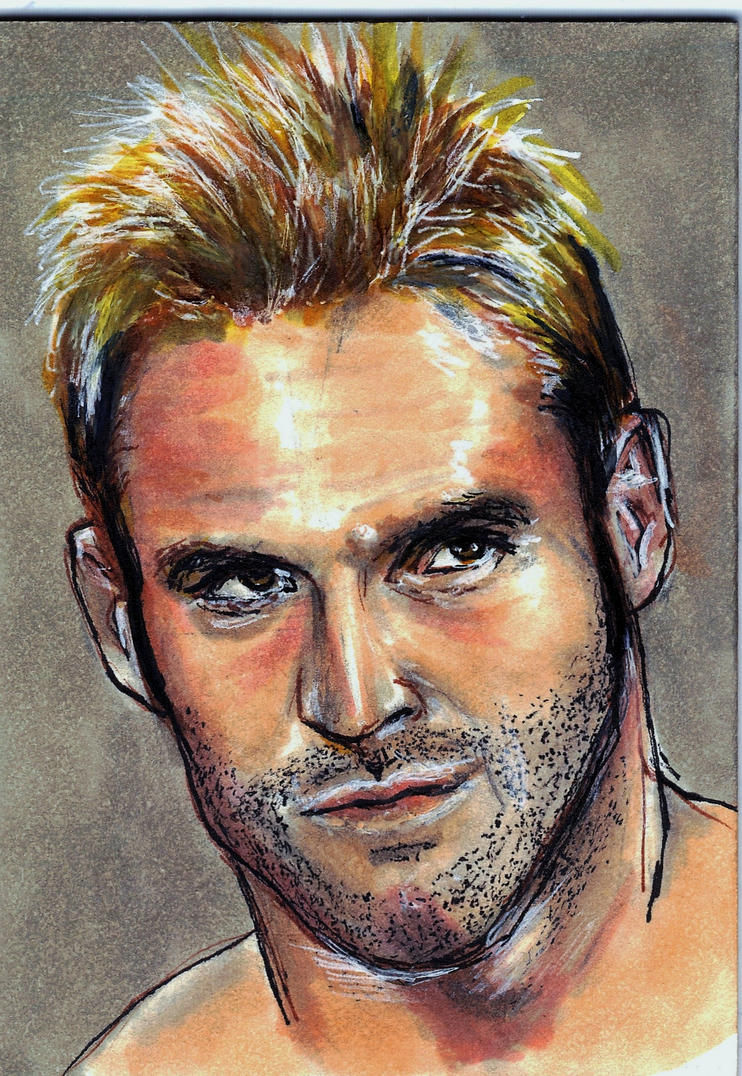 Zack Ryder Sketch Card by Gothscifigirl