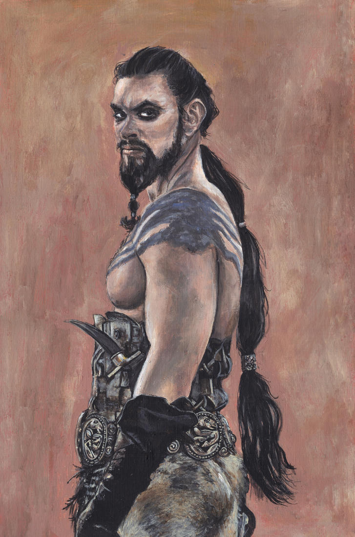 Khal Drogo Game of Thrones by Gothscifigirl
