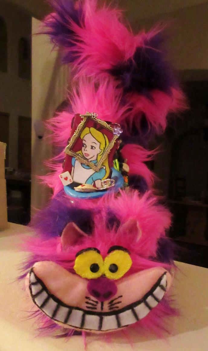 Cheshire Cat Decorated Shoe Stiletto Alice by Gothscifigirl