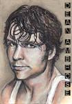 Dean Ambrose Sketch Card Copics