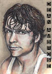 Dean Ambrose Sketch Card Copics