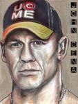 John Cena Sketch Card Copics