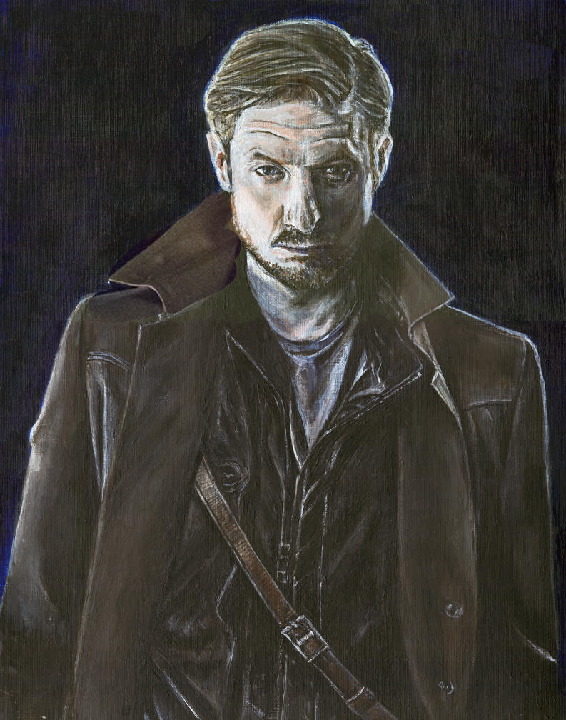 Arthur Darvill as Rip Hunter Legends of Tomorrow by Gothscifigirl