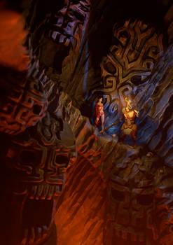 Ancient Cave descent