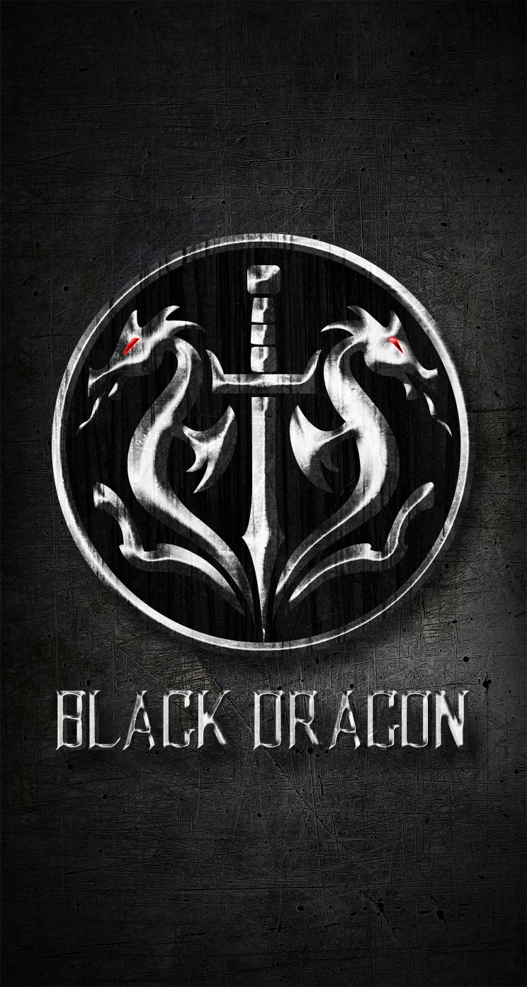 Black Dragon Wallpaper For IPhone 5 By RenegadeDeadpoo