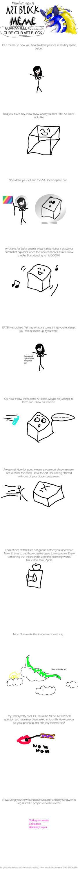 Art Block Meme by fiercebloodlove