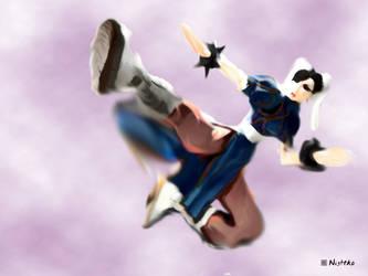 Chun Li Kick into the sky Verion 1.00 by Nightko