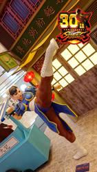 Street Fighter 30th Anniversary Chun Li 1:1 Size by Nightko