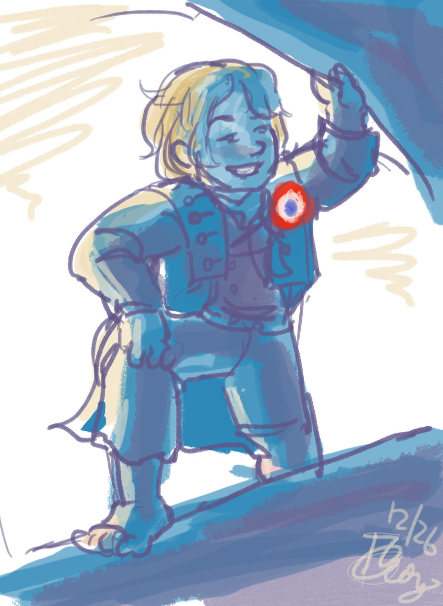 LesMiz-Gavroche by tomato-bird