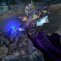 Dark Priestess by DiannaSilver