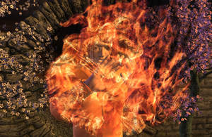 Fire Spell by DiannaSilver