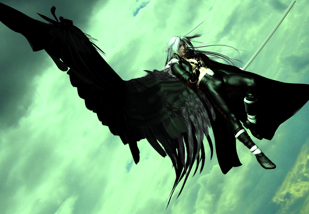 One Winged Angel by DiannaSilver on DeviantArt One Winged Angel Sephiroth