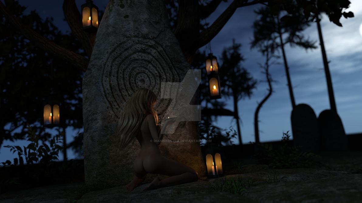 Night Wish by DiannaSilver