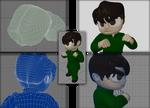 3D Mesh Study: Ivan