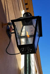French Quarter Gas Lamp