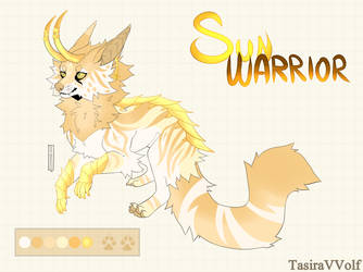 Sun warrior Adopt auction [Closed] by TasiraVVolf