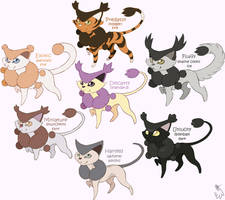 Delcatty variations! by LucidJello